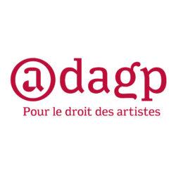 Logo_ADAGP_avecbaseline_artistes_FR_rouge carré